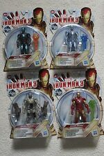 MARVEL Set di 4 Figure IRON MAN 3 ULTIMA SERIE