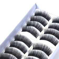 5 paia di ciglia finte realizzate interamente a mano make up occhi professionale