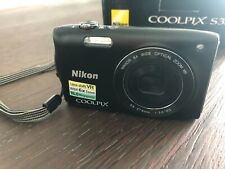 Nikon COOLPIX S3300 16.0MP Digital Camera - Black