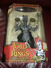 NEW TOY BIZ MARVEL Lord of the Rings Sauron Electronic Action Figure
