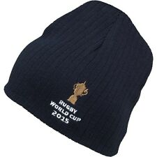 Canterbury Webb Ellis Cup Beanie Hat NEW Navy Mens World Cup 2015 Rugby Union