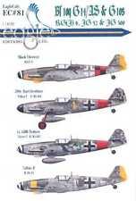 EagleCals Decals 1/32 MESSERSCHMITT Bf-109G14/AS & G-10 RG(J)6 JG52 & JG300