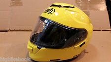 SHOEI GT AIR MOTORCYCLE HELMET Brilliant  Yellow Small