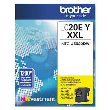 Brother LC20EY INKvestment Super High-Yield Ink Yellow