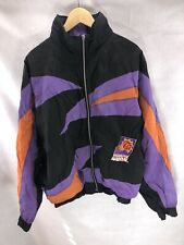 Phoenix Suns Starter Vintage Puffer Jacket Mens Sz L Big Logo 90s Script Coat