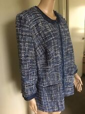 Maggie T Ladies Blue Jacket - SIZE 16 - New with tags