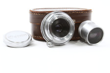 "[RARE!] Canon 28mm f/3.5 ""EP"" Rangefinder Lens w/ Finder & Case"