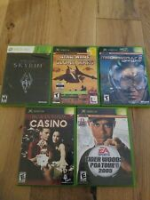 xbox 360 games lot of 5 Games