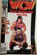 WCW World Championship Wrestling  Comic #9 The Steiner Brothers Comic Marvel