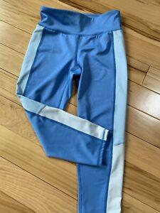 GAP FIT Periwinkle Blue Athletic Legging/Pants Sz Large Girl