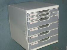 Shutter desktop organiser A4 multiform cabinet filling cabinet document tray box