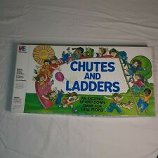 Chutes and Ladders Game - Milton Bradley - 1979 Edition Vintage Complete