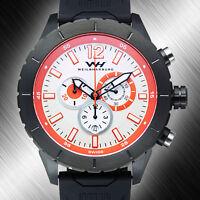 Weil and Harburg Swift  Men's Watch Chronograph Swiss Rhonda 5040 Mvmt.  NIB