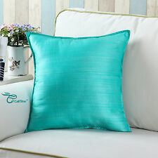 2pcs CaliTime Stereo Roses Floral Cushion Covers Pillow Shell Decor 50cm X 50cm