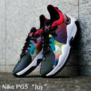Nike PG5 EP Multi Color Joy Paul George Men Basketball Shoes CW3146-600