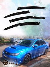 For Subaru WRX 12-19 Deflector Window Visors Guard Vent Weather Shield