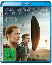 Arrival [Blu-ray](NEU&OVP) Amy Adams, Jeremy Renner, Forest Whitaker, Michael St
