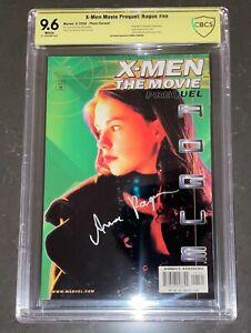 ANNA PAQUIN SIGNED X-MEN THE MOVIE PREQUEL ROGUE MARVEL COMIC BOOK CBCS 9.6 CGC