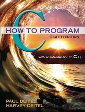 C How to Program (8th Edition) by Deitel, Paul J., Deitel, Harvey