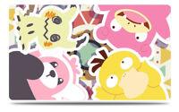 Pokemon Custom Playmat Bewear Mimikyu Psyduck Slowpoke Play Mat