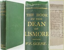 1862*DEAN OF LISMORE'S BOOK*ANCIENT GAELIC POETRY*FROM 16th CENTURY MANUSCRIPT*