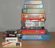 Spielesammlung Gesellschaftsspiele Spiele-Paket ab 12 / Erwachsene