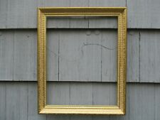Vintage Mid-Century Gold Wash Wood Picture Frame fits 16 x 20