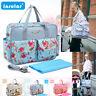 Insular Waterproof Nylon Baby Diaper Bag Mommy Travel Handbag Stroller Nappy Bag