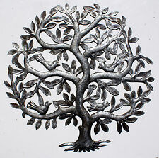 Tree of Life Products Online Haitian Artists Oil Drum Art Metal Wall Art 60cm
