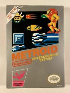 Metroid Boxed NES VGC NTSC-U/C