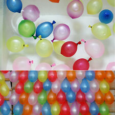 500X  Wasserbomben Luftballon Wasserballon Bunt Ballon Wasser Kinder  .