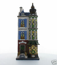 Department 56 Christmas in the City Cafe Caprice French Restaurant 1996 #58882