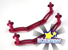ALUMINUM FRONT+REAR BODY POST RED FOR TRAXXAS 1/10 SLASH 4x4 6804 6807 6808 6815