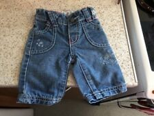 Pumpkin Patch Baby Girls Blue Floral Patterned Jeans Age New Born