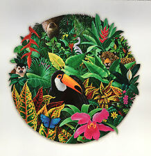 Charles Lynn Chick Bragg TOUCAN RAIN FOREST Hand Signed Serigraph Art