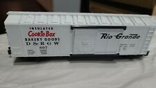 K-LINE K511-008 D&RGW COOKIE BOX RIO GRANDE BOX CAR, Estate Lot # 361
