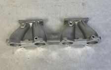 Ford 1500 Cortina Pre X Flow Inlet Manifold Weber X2 Dcoe Carburettor 12 3019