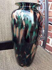 "Bohemia  Czech Republic Art Glass Vase 13,5"""