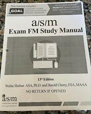 A.S.M. Study Manual for Exam FM/Exam 2 13th Edition By H. Cherry And R. Gorvett