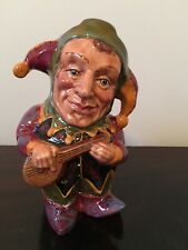 "Genuine English Toby Jug ""The Jester"""