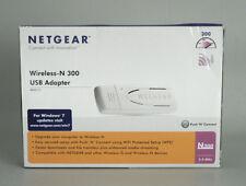 Netgear Wireless-N300 USB Adapter WN111 In Box