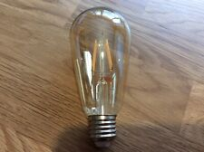 Vintage Style LED Dimmable Filament Pear Shaped Bulb-Amber
