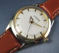 Vintage Longines Wittnauer Automatic 10k Gold GF Mens Watch 17j 11ARB 1950s