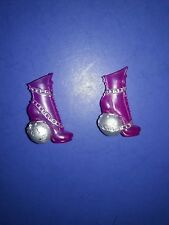 Monster High Doll Original First Wave 1 Spectra Purple Shoes Boots Ghouls Alive