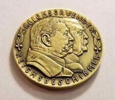 German Karl Goetz Medal Medallion coin Bismarck Hindenburg 1931 Bronze