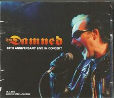 THE DAMNED - Live At Manchester Academy 19/11/2011 CD X2 35th Anniversary
