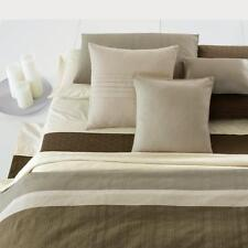 "Calvin Klein Studio Laguna Rib Plateau Pleated 20"" Square Decorative Pillow v15"