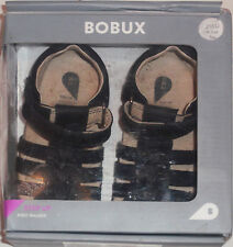 BOBUX TODDLER BABY PAIR OF  NAVY COLOR JUMP SANDALS SIZE 5 (EU 21) NEW IN BOX