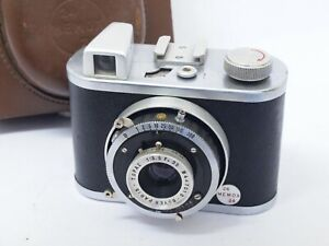 Memox 24, Rare French 35mm Camera with Boyer Topaz and with Case. Stock No u9692