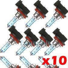 Lot10 H11 6000K Xenon Gas Halogen Headlight White Light Lamp Bulbs 55W 12V Sale